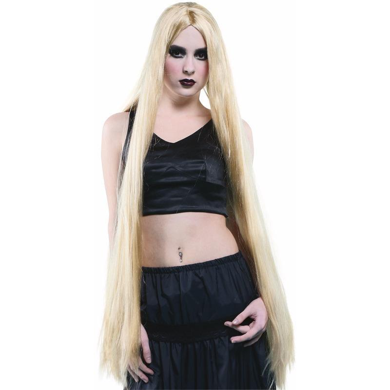 1 Meter Lange Pruik Blond Haar