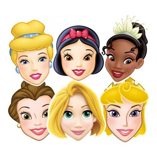 Disney Prinsessen gezichtmaskers