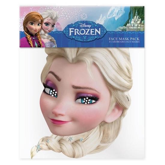 Elsa masker voor kinderen