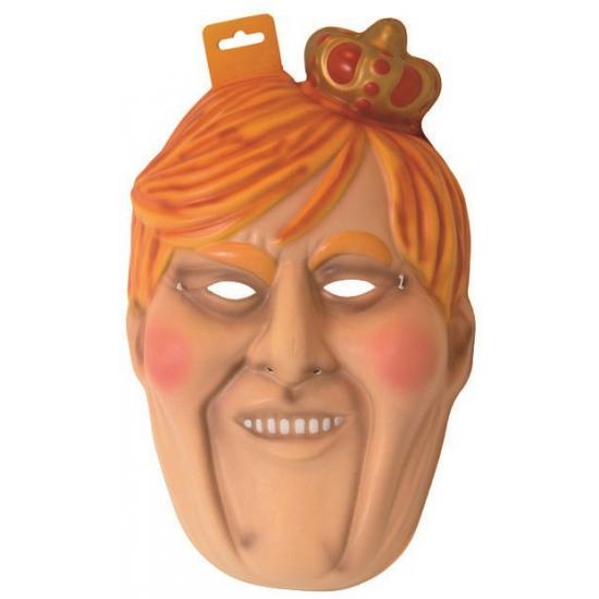 Foam Willem Alexander masker