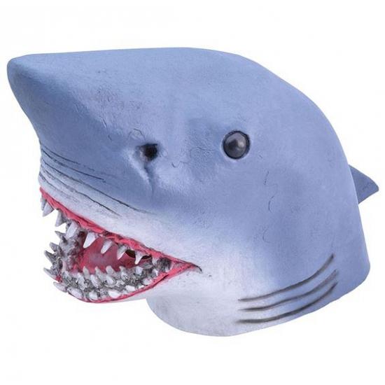 Haai masker van rubber
