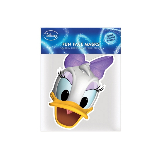 Katrien Duck masker van karton
