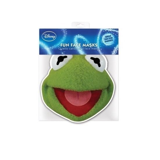 Kermit de Kikker masker van karton