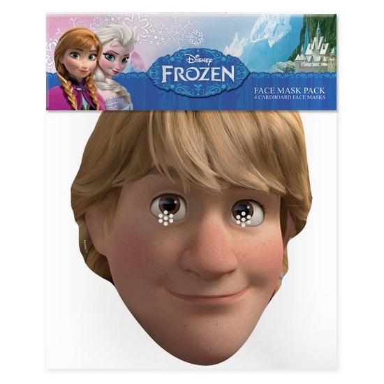 Kristoff Frozen papieren masker