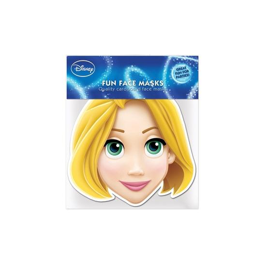 Rapunzel papieren masker
