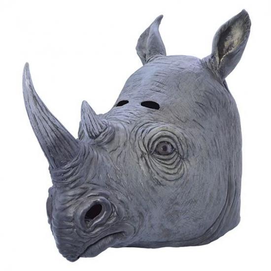 Rubber neushoorns masker