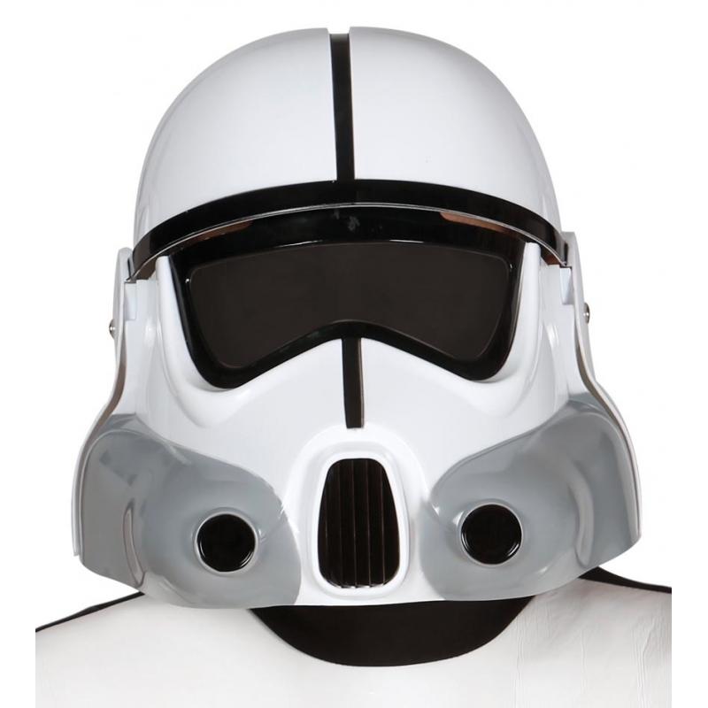 Ruimte soldaat witte helmen