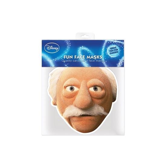 Waldorf Muppetshow masker van karton